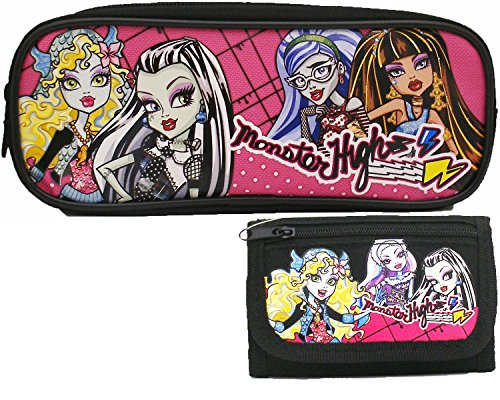 Monster High Estuche y 1 Trifold – Cartera