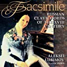 Russian Clavichords Of The XVIII Century