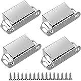 Magnetische vangsten 4 Pack Magnetische deurvangst 6kg Magnetische deurvangsten voor kasten kasten, deur magneten voor keuken