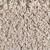 Teppichboden Auslegware | Hochflor Langflor | 400 und 500 cm Breite | beige | Meterware, verschiedene Größen | Größe: 1 Muster