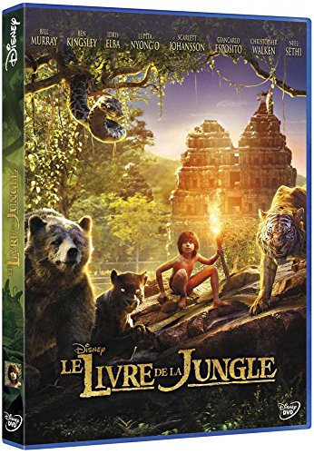 Le livre de la jungle : film DVD