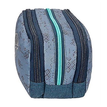 Pepe Jeans Pierce Neceser de Viaje, 22 cm, 1.98 litros, Azul