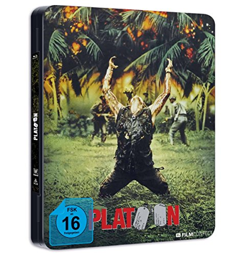 Platoon (Steel Edition) [Blu-ray]