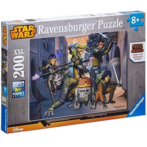 Ravensburger 12809 - Star Wars - Die Rebellion beginnt, 200 Teile Puzzle (Einzigartigen Star Wars Geschenke)