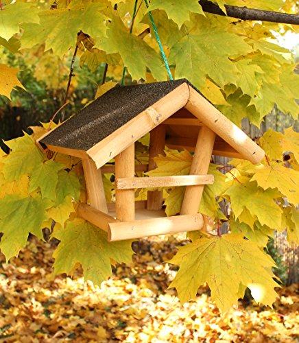 Holz-Vogelhaus Futterstation