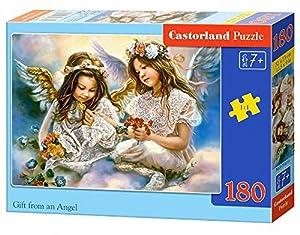 """Castorland """"clásica del Regalo de un ángel Rompecabezas (180 Piezas, Multi-Color)"""