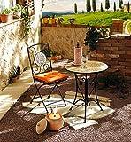 Terracotta-Weinkühler mit Unterteller - 2