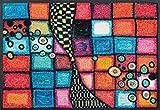 wash+dry Fußmatte Acryl Bunt 50x75 cm