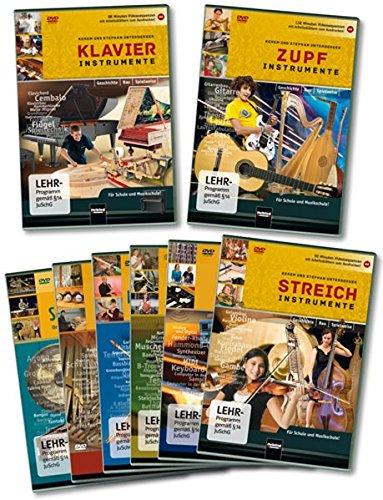 Instrumentenkunde im Musikunterricht: Komplettpaket mit 8 DVDs