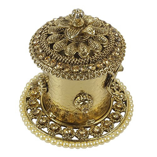 MUCHMORE MUCH MORE Ethnic Design Made Sindoor Box for Women Jewelry