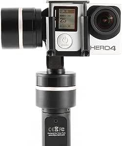 Feiyu Tech FY-G4QD 3-Axis Brushless Joint cardan stabilisateur pour GoPro 43+ 3SJ4000Xiaoyi AEE appareil photo de sports action