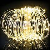 TWEIFER 20M 200LED Solar String Lights Christmas Wedding Party Decoration