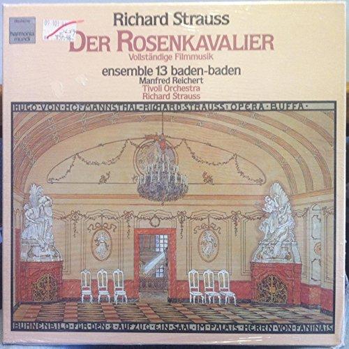 Strauss: Der Rosenkavalier (Vollständige Filmmusik) [Vinyl Schallplatte] [4 LP Box-Set] -