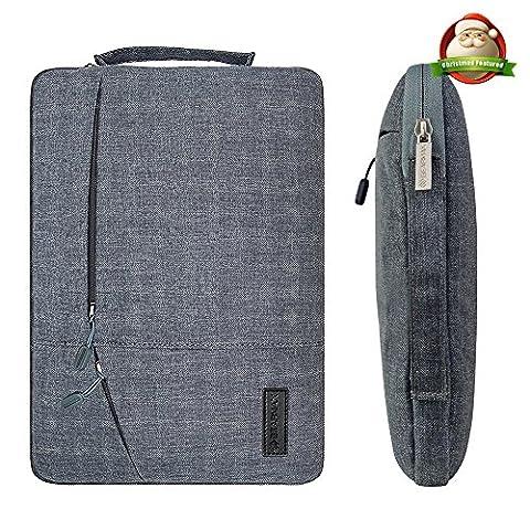 Filz Laptop Hülle Sleeve Tasche - Yarrashop 11 Zoll Grau Ultrabook Bag Macbook Tasche Retina Sleeve für 11/ 11,6 Zoll Tasche Macbook Air/ Pro Retina iPad Pro