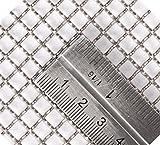 Inoxia fili di maglia taglio diamante rete mesh–count: 4(1.2mm), dimensioni: 16cm x 75cm