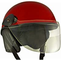 Anokhe Collections PC Shell Junior Helmets for Baby Protection and Safety (3-12 Years, Red Glossy)