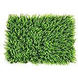 copertura artificiale falsa pianta di siepe faux fence tappetino schermi privacy schermo eucalipto verde pannello decorazione muro di parete da yunhigh