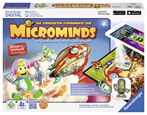 Ravensburger 27580 - Microminds Spiel (Puzzle-spiele Für Android-tablets)