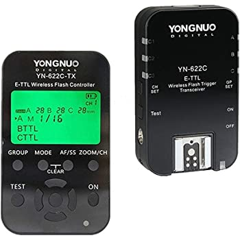 Yongnuo YN622C TX Kit YN 622 Receiver And 622TX Transmitterfor