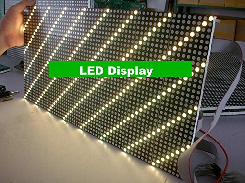 Gowe Dual Farbe Dot Matrix LED Display Modul 244 * 488 mm Pitch 7,62 mm für Bus LED Destination Schild Led-matrix-display