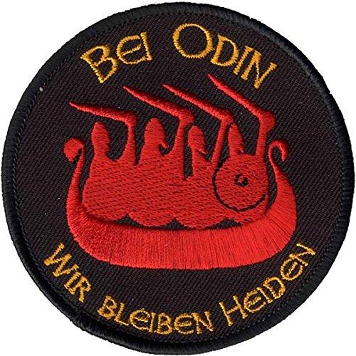 Wotan Textil Parche-En Odin nos quedamos Heiden