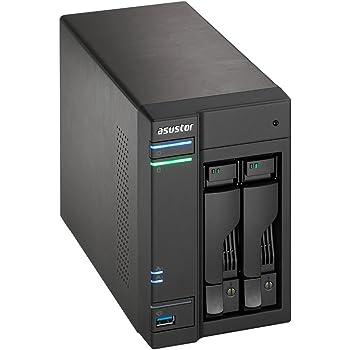 Asustor AS-5102T Serveur NAS USB 3.0 Noir