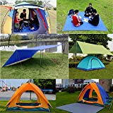 JTENG Camping matte Zeltmatte Footprint Bodenmatte Outdoor Camping Gear,Matte Überwurf Strand Decke Für Camping, Picknick oder Angeln 82,7