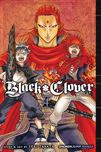 Black Clover, Vol. 4 Cover Image