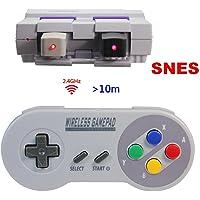 Manette sans Fil pour Nintendo Super NES Classic Mini,TT Globle 2.4GHz Contrôleur sans Fil pour Snes Classique Mini…