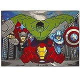 Teppich Avengers City Marvel