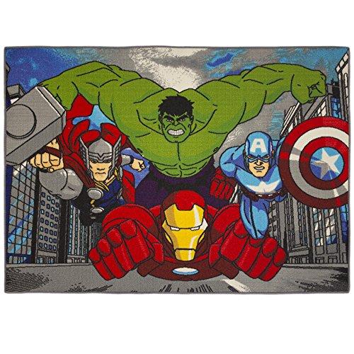 Preisvergleich Produktbild Teppich Avengers City Marvel