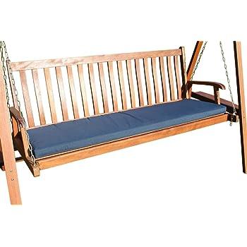 gartenm bel auflage auflage f r 3 sitzer gartenbank in marineblau. Black Bedroom Furniture Sets. Home Design Ideas