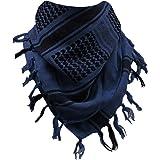 FREE SOLDIER Gesichtsschal/Kopftuch Shemagh Taktischer Schal Arabischer Baumwoll Wüsten Kopf Schal für Männer u. Frauen, 110 * 110cm