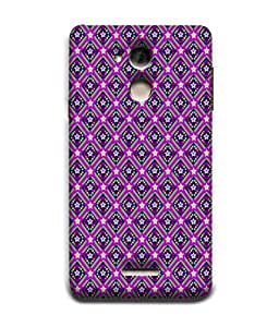 PrintVisa Designer Back Case Cover for Coolpad Note 5 (Matty Box Round Design Texture Matefinish Star Girlish)