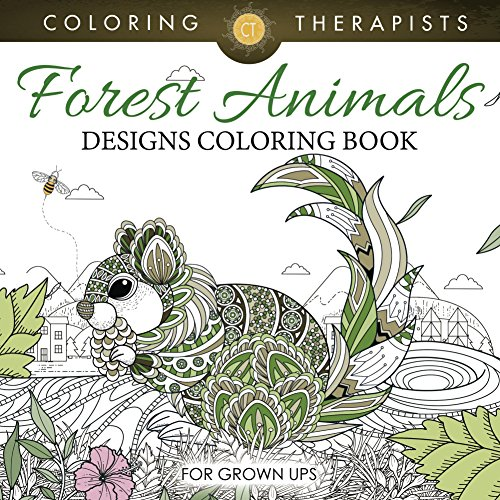 forest-animals-designs-coloring-book-for-grown-ups-forest-animals-and-art-book-series