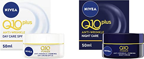 Nivea Face Q10+ Anti-Wrinkle Day Creme 50 ml + Night Creme 50 ml