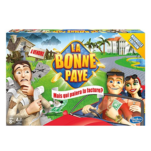 Hasbro Gaming - 000324470 - Jeu de Société - La Bonne Paye