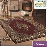 Orient Teppich Kollektion Marrakesh - Orientalisch-europäische Designs / klassisch und modern ( Läufer 80 x 150 cm, Istanbul / Rot 0297 )