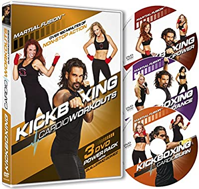 Kickboxing Cardio Workouts 3 DVD Power Pack with Guillermo Gomez from New Shoot Pictures Ltd
