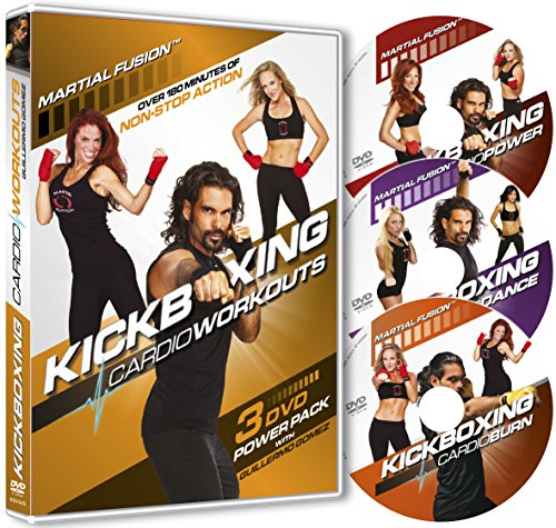 Preisvergleich Produktbild Kickboxing Cardio Workouts 3 DVD Power Pack with Guillermo Gomez