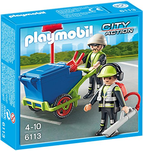 Preisvergleich Produktbild PLAYMOBIL 6113 - Stadtreinigungs-Team