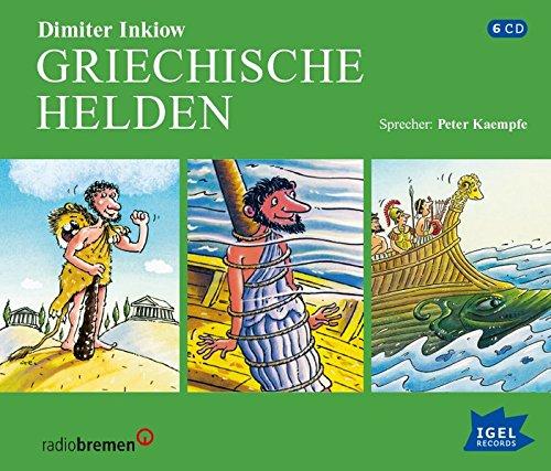 Griechische Helden: Die Heldentaten des Herkules, Die Abenteuer des Odysseus, Jason und die Argonauten