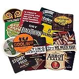 bar@drinkstuff Lotto di 50 tradizionali stuoie di birra assortite - Drink bar-Coaster, perfetto per collezionisti