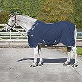 Horseware Rambo Grand Prix HELIX lite 0g Decke -Navy/Beige, Groesse:165