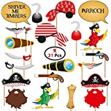 Party Propz Pirate Theme Photo Booth (20 Pieces)
