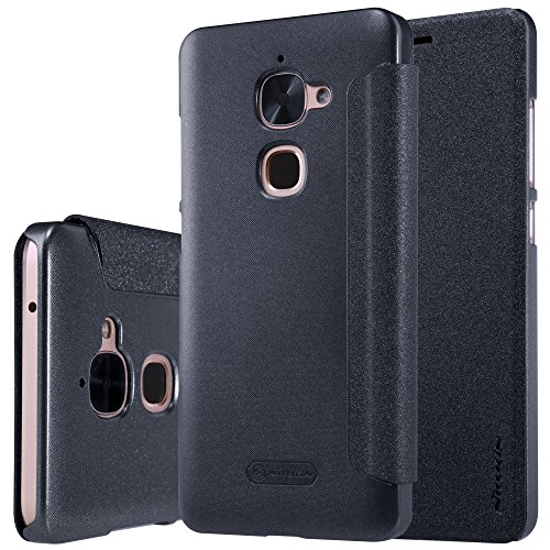 Nillkin Sparkle Series Window Leather Flip Case Cover for LeEco (LeTV) Le 2 - Grey