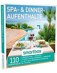 SMARTBOX - Geschenkbox - SPA- & DINNER-AUFENTHALTE - 110 Aufenthalte: 1 Nacht mit Frühstück, Abendessen und Spa in 3* oder 4* Hotels