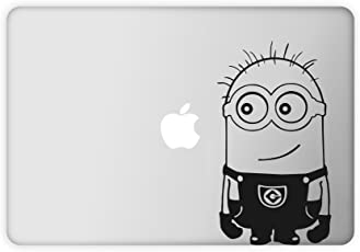 Rawpockets Laptop Decal 'Minions Big' (Material-Vinyl) (Pack of 1) Sticker