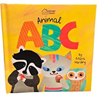 Animal ABC: Playful animals teach A to Z (Padded Board Book)