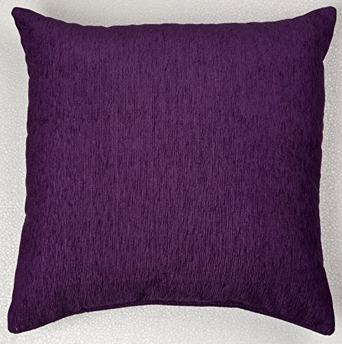 Featherlite Revedoux Chenille Solid 3 Piece Moshi Fabric Cushion Cover - 16